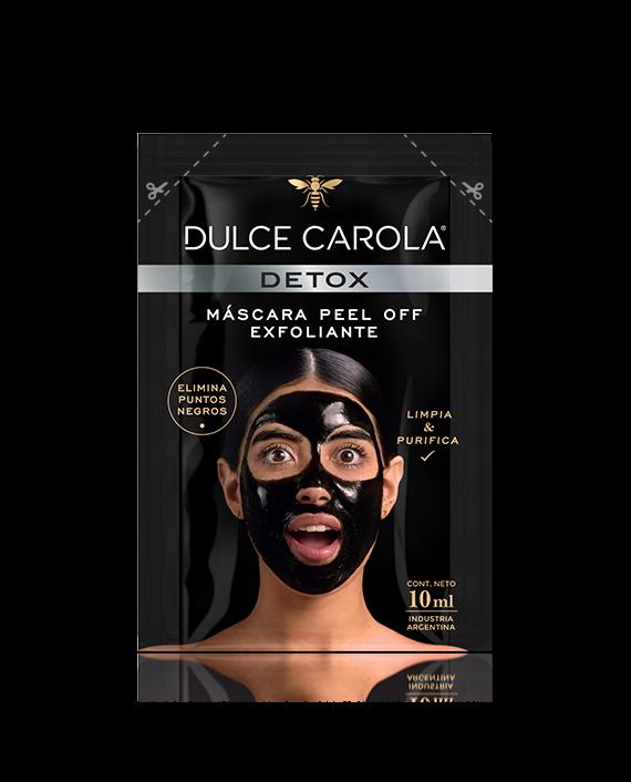 Máscara Facial Detox Peel Off Puntos negros
