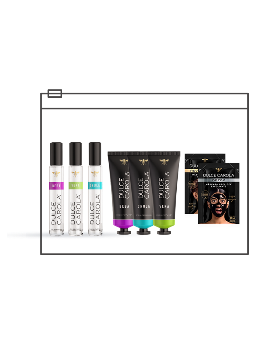 Kit Cremas + Perfumes